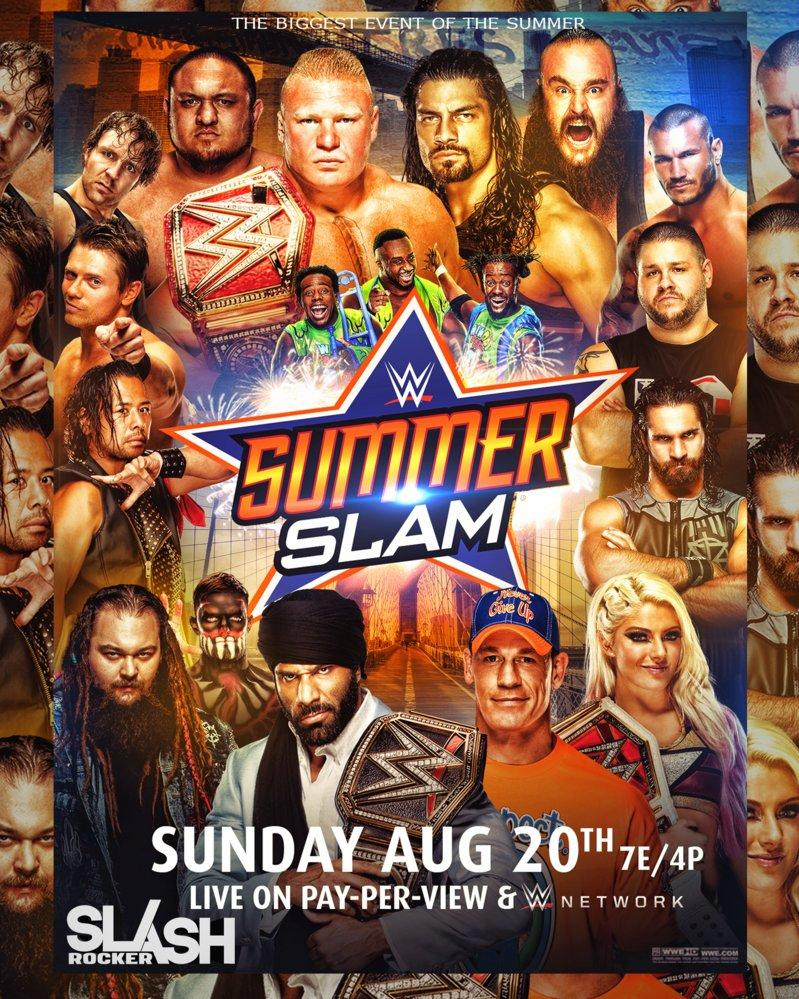 WWE SummerSlam 2017 مترجم