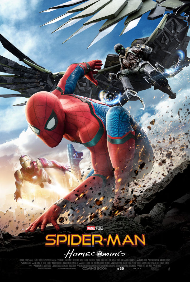 مترجم Spider-Man: Homecoming 2017 1080p BluRay