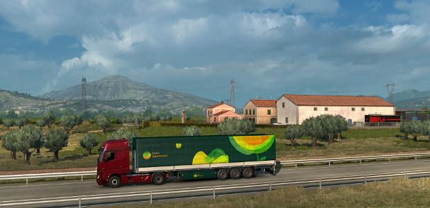 لعبه Euro Truck Simulator 2 Italia